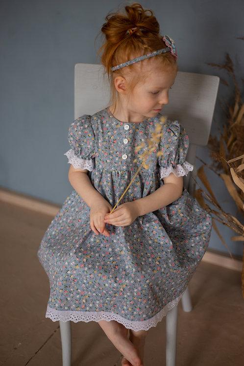Платье МТ 20-2 незабудка