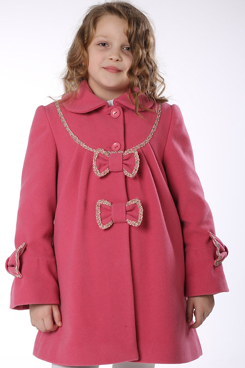 Пальто  детское  для девочки  Ириска М-342