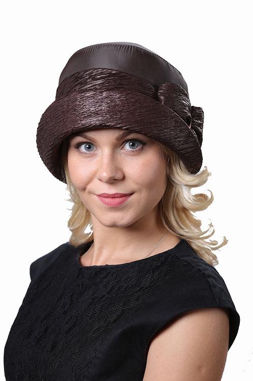 Шляпа женская МЭРИАН  П060 коричневый