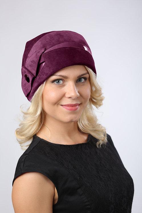 Шляпа женская АМЕЛИЯ К1509 бордовый