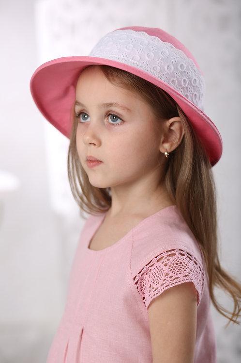 шляпа Скарлетт розовый