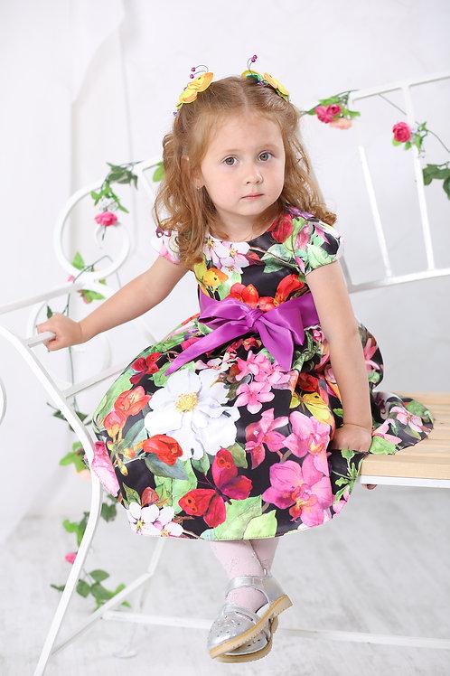 платье для девочки М-385 Элли бабочки