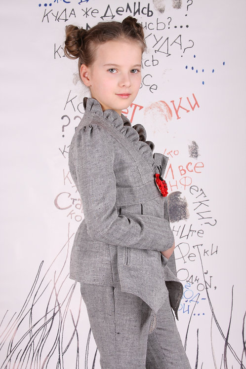 Жакет елочка М-112 для девочки
