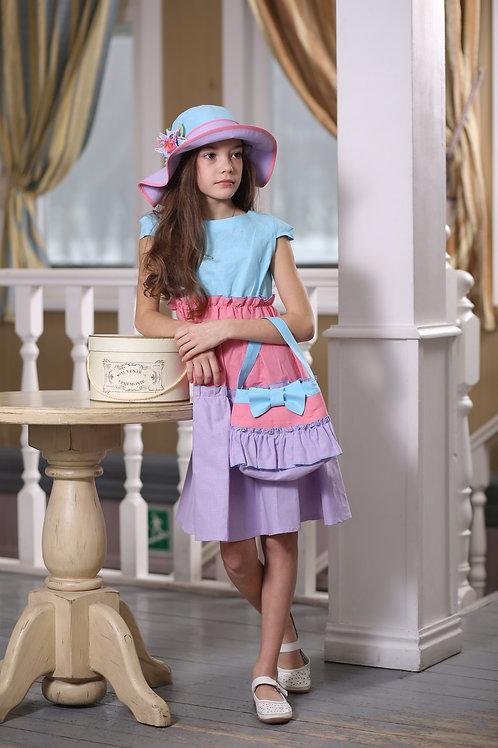 платье для девочки Эмилия 350-1