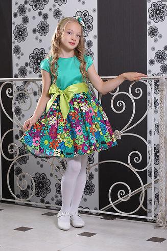 платье для девочки Элли М-385