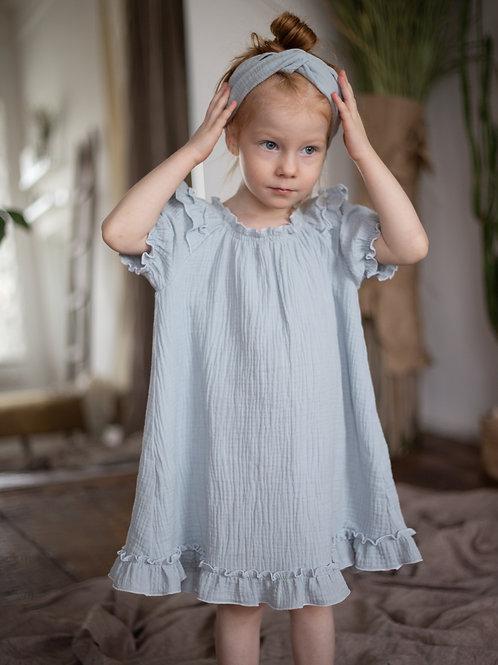 """платье для девочки М20-4""""Кнопка"""""""