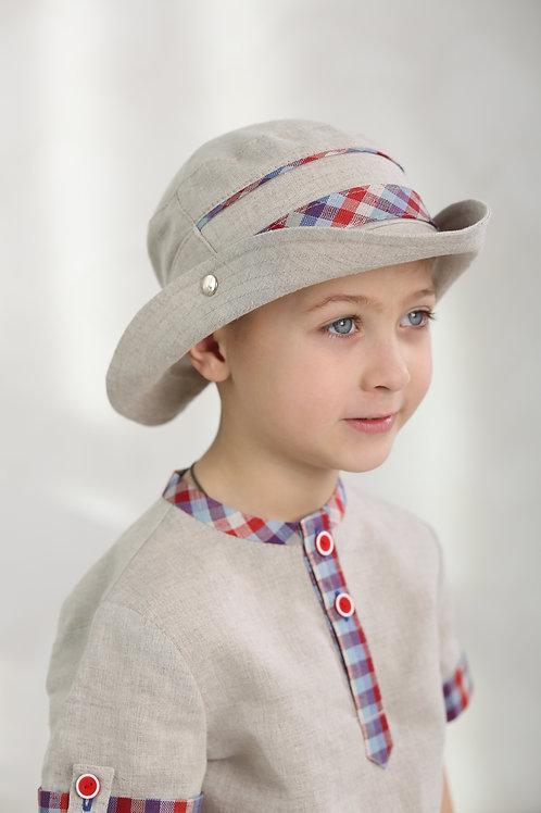 шляпа Вело  ГУ17-17 натуральный