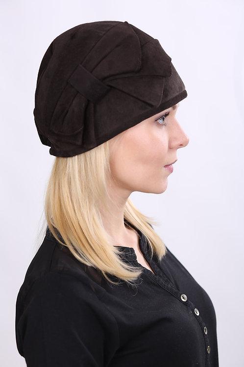 Шляпа женская РАШЕЛЬ К1407 коричневый