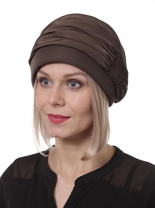 Шапка женская Глория П068 коричневый