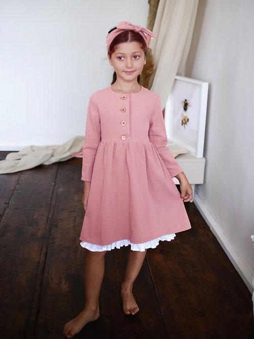 Платье  МТ20-6 пастельно розовый