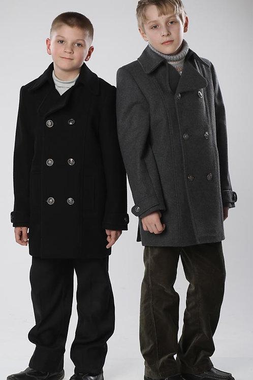 Пальто  для мальчика М271 Бушлат