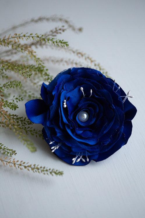 Резинка для волос Амелия синий
