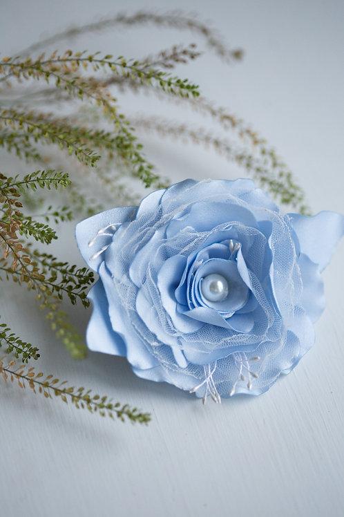Резинка для волос Амелия голубой