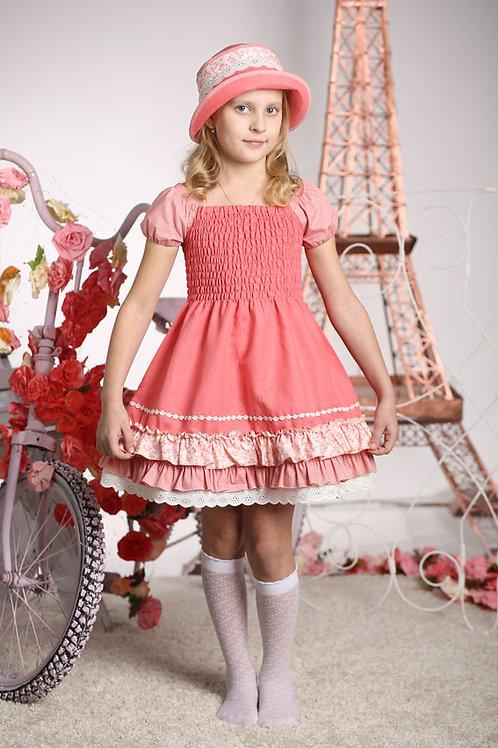 платье для девочки Тильда  М-408