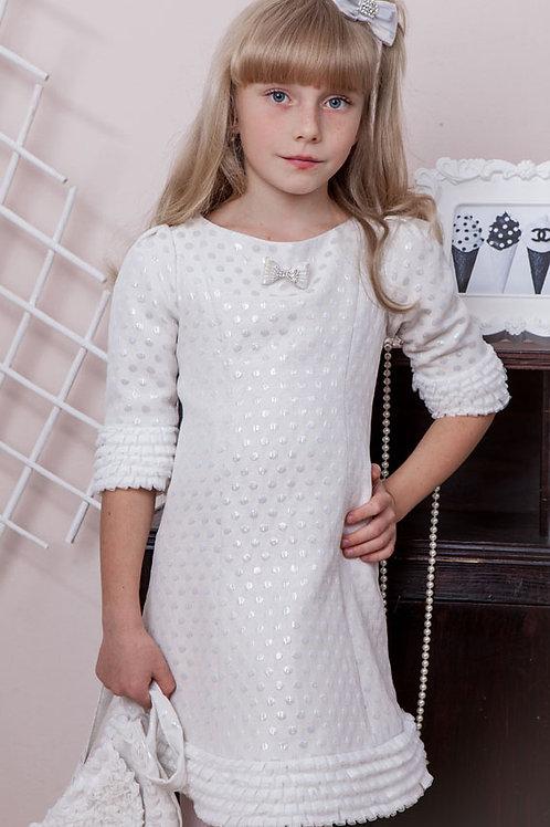 платье для девочки Снегурочка М-394