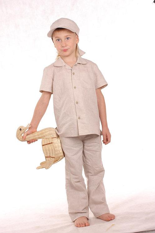 рубашка для мальчика  М-140