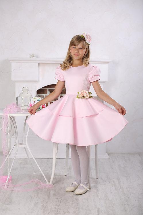платье для девочки Вальс А 16-2 розовый