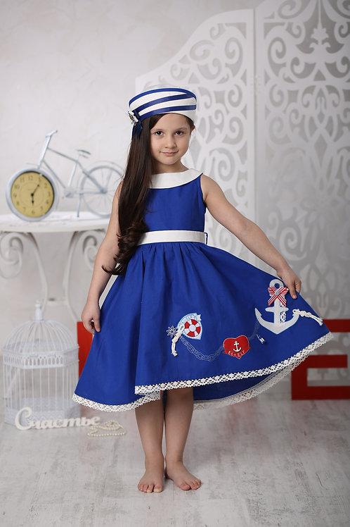 """платье для девочки Л17-14 """"Вояж"""""""