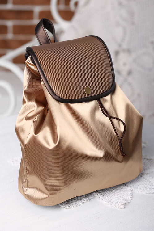 Рюкзак для девочки золото