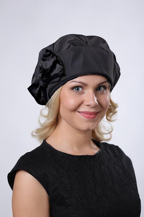 Берет  женский ЛИЛИ  П101 черный