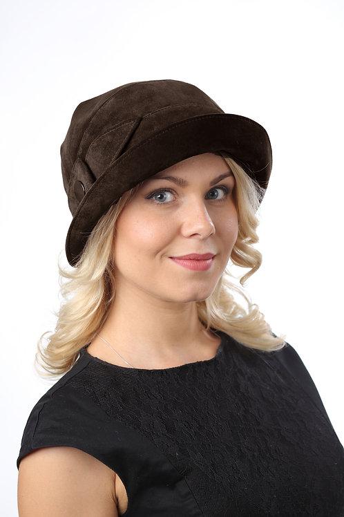 Шляпа женская ЛИРА К1507 коричневый