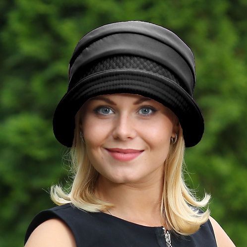 Шляпа женская МАРИКА  П074 черный