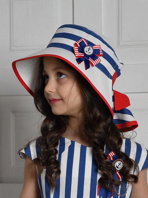 Шляпа Чайка ГУ19-3 полоска