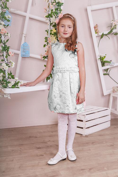 платье для девочки Жемчужина  М-259 горох