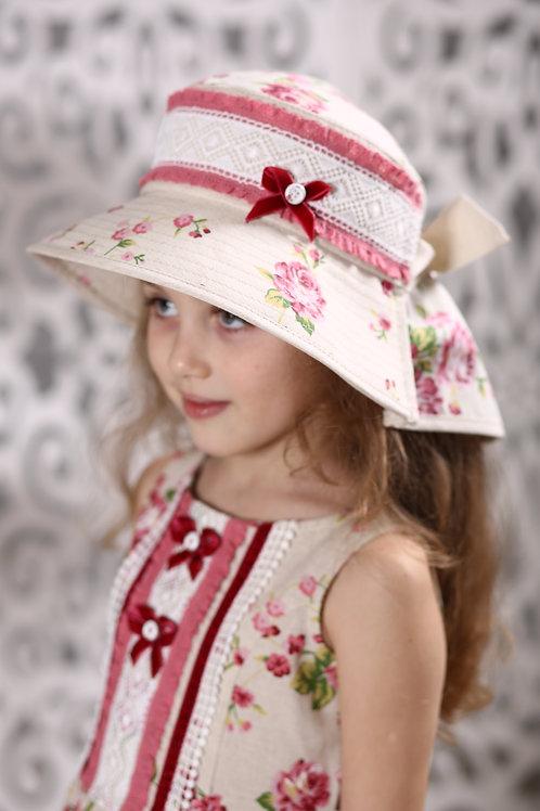 Шляпа Розочка ГУ17-21