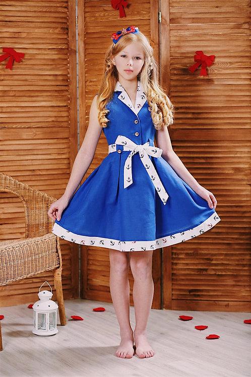 Копия «платье для девочки Эльфа М-411»