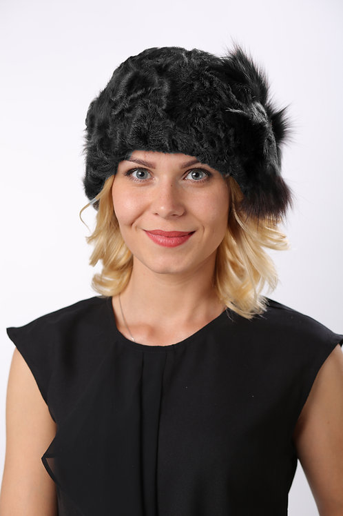 Шапка женская КЕРРИ КМ1609 черный