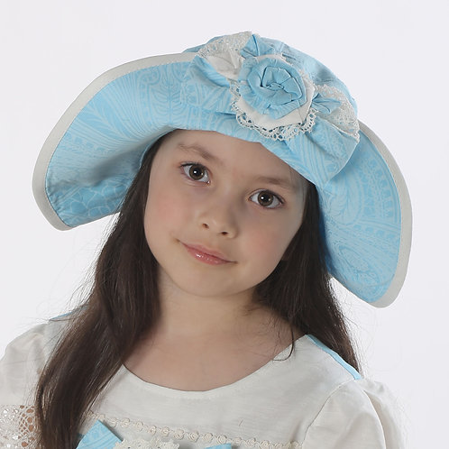 Шляпа Тутси ГУ055 голубой