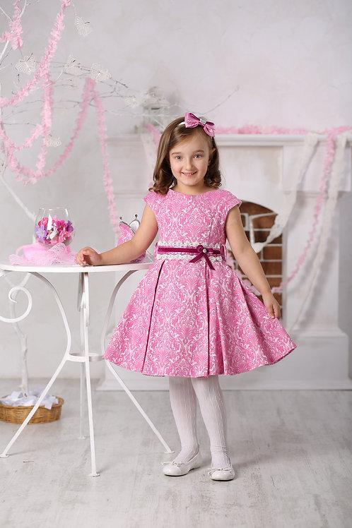 платье для девочки Софи М-387 сирень