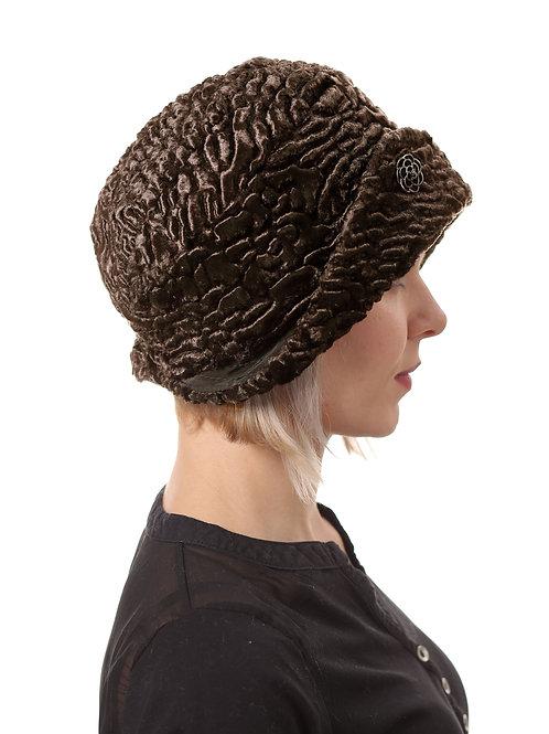 Шляпа женская ЛЮКС Н1901 коричневый