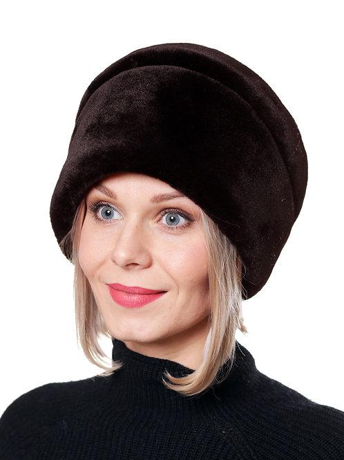 Шляпа женская МИЛЕНА М1802 коричневый