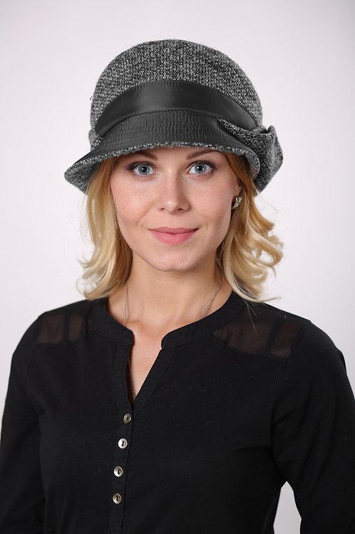 Шляпа женская АЛЬБЕРТА  П1701  черный
