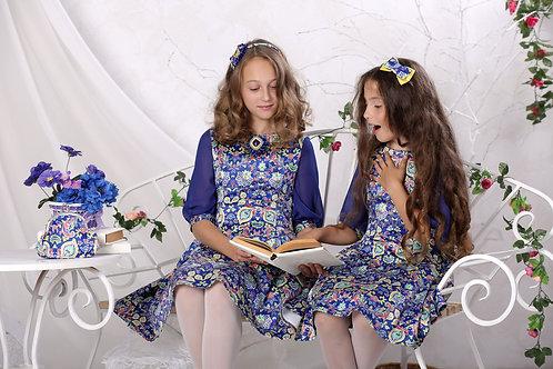платье для девочки Лия М-428 орнамент