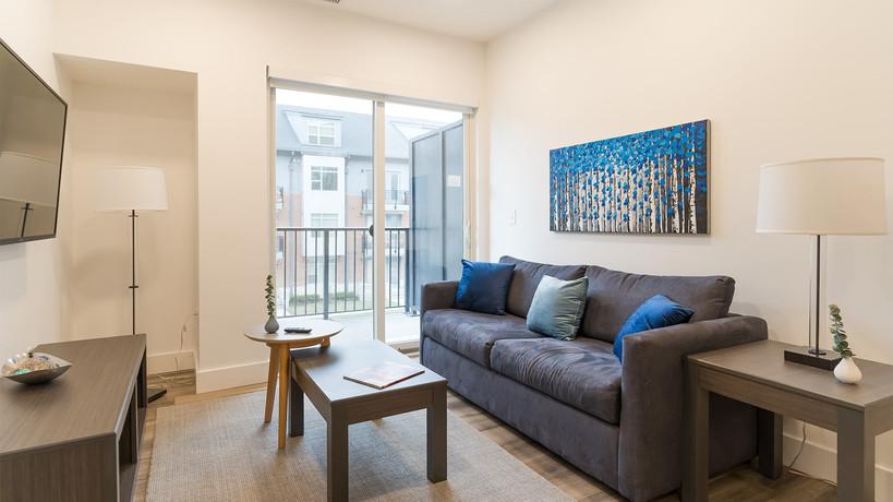 8 - Living Room _ Balcony - Nine+Eightee