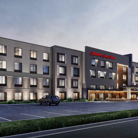 Hilton Hampton Inn Render