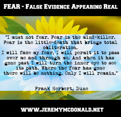 FEAR - False Evidence Appearing Real