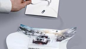 BMW - propagácia zimných pneumatík. Dômyselné a jednoznačné demo produktu v jeho najlepšej podobe.