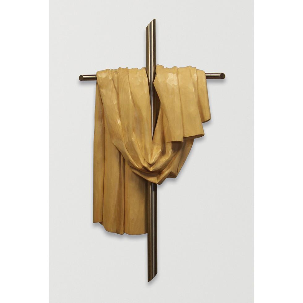 Lindenholz – Edelstahl 30 x 55 cm