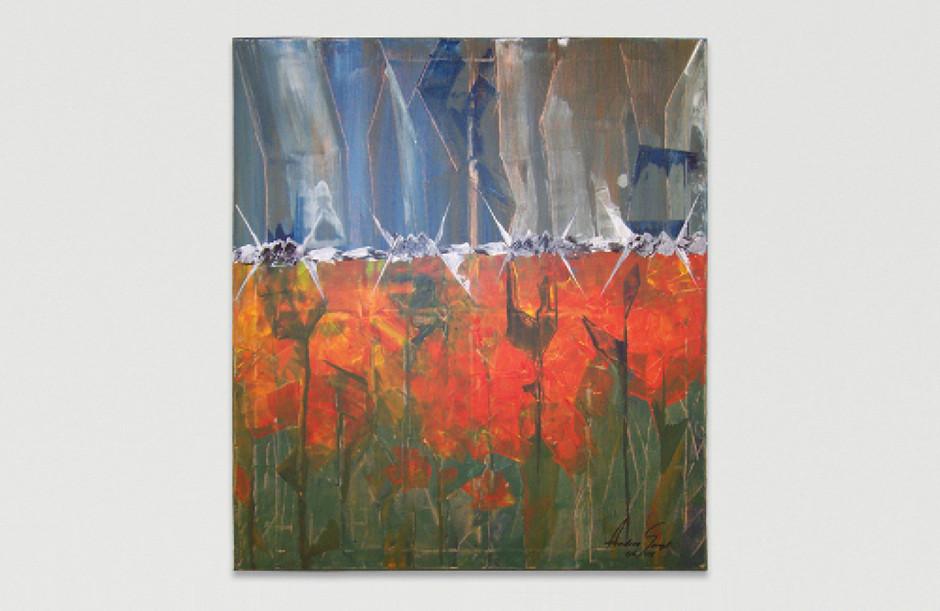 Acrylmalerei – Leinwand 80 x 70 cm