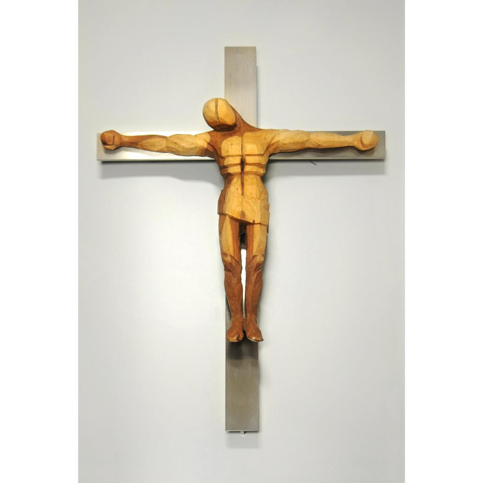 Pflaumenholz – Edelstahl 61 x 40 cm
