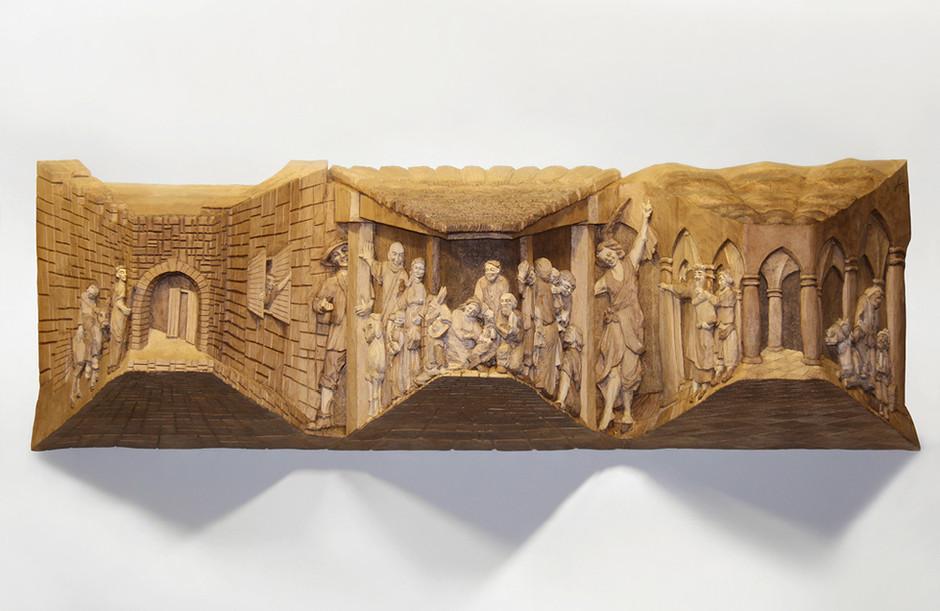 Lindenholz – Beize 97 x 30 cm