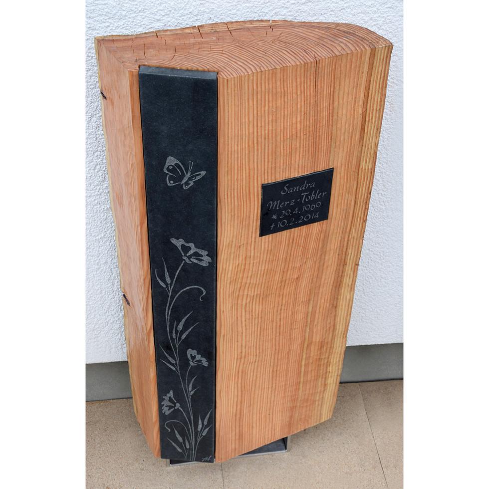 Lärchenholz – Granit 100 x 48 x 18 cm