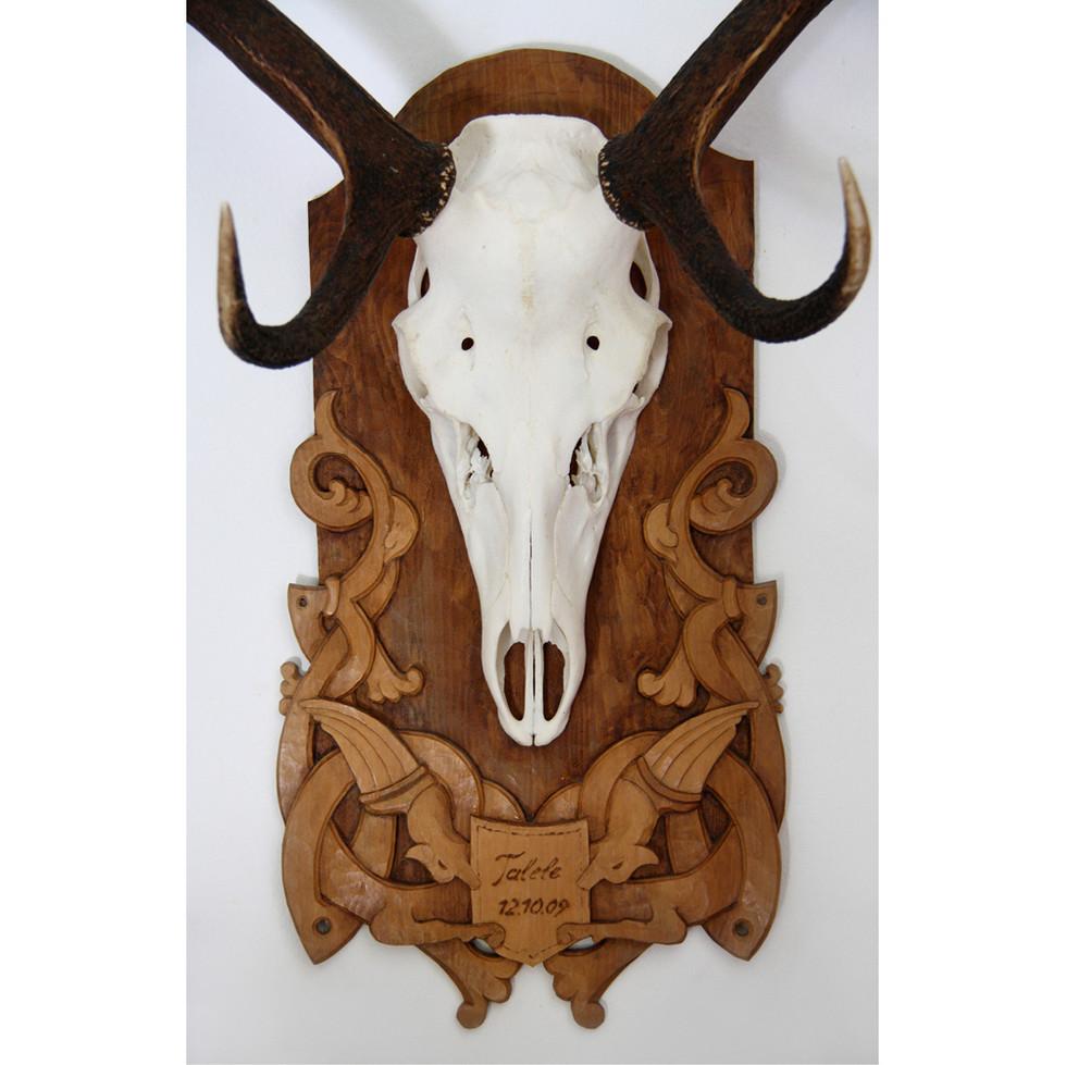Zirbenholz – Beize 30 x 50 cm