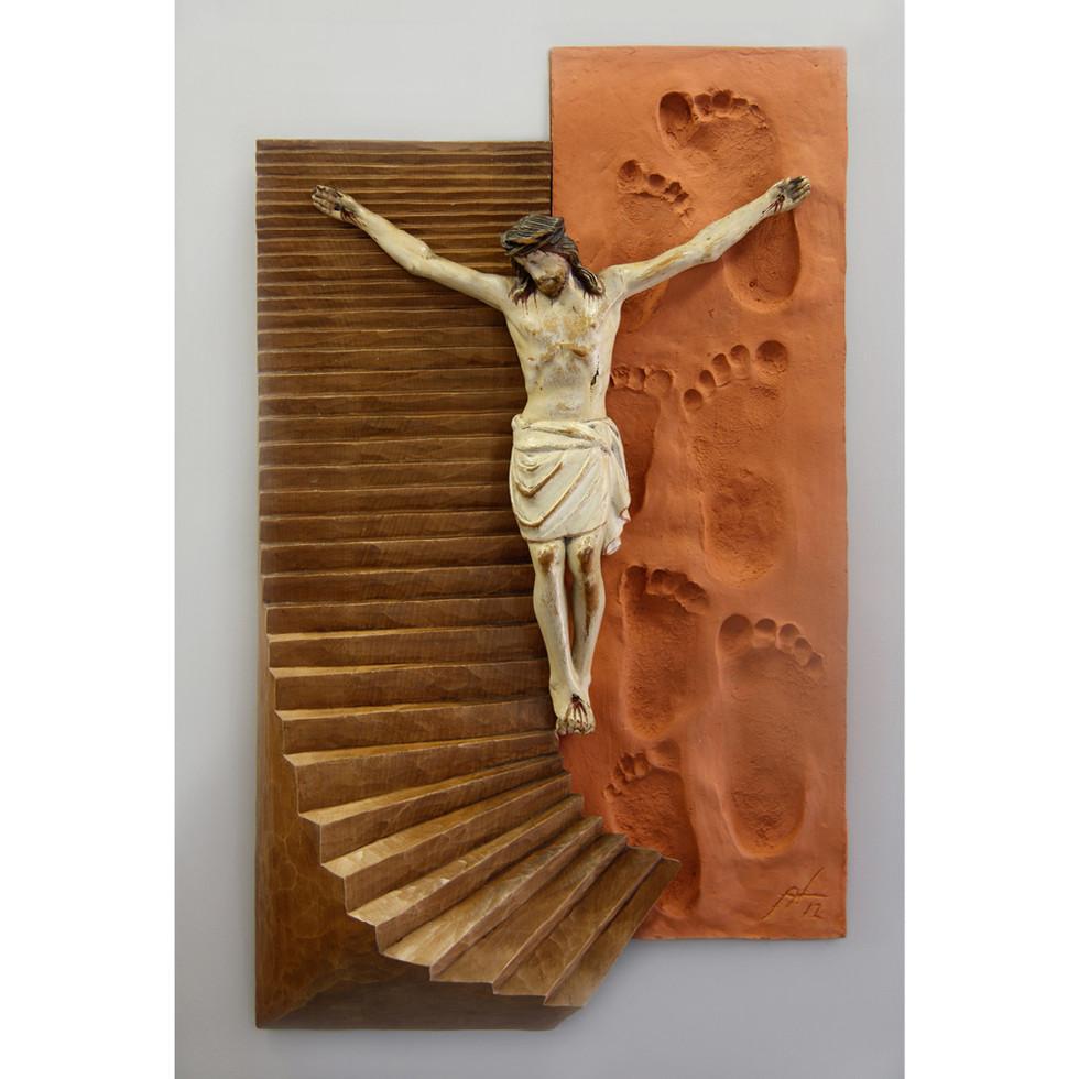 Lindenholz – Beize – Ton 30 x 50 cm