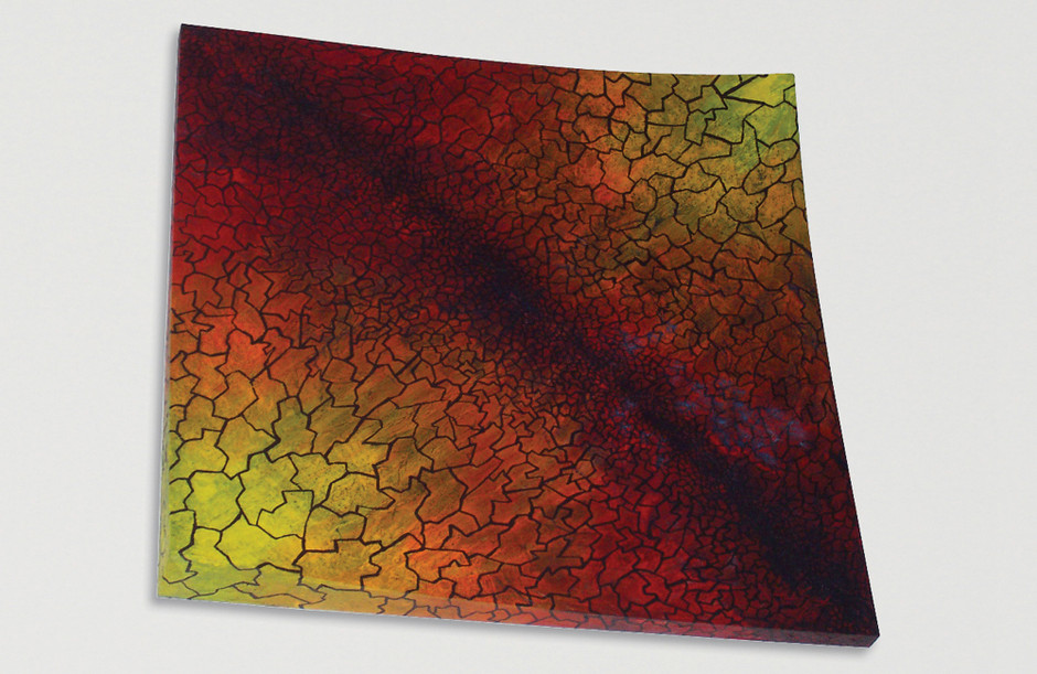 Acrylmalerei – Sperrholz 80 x 80 cm