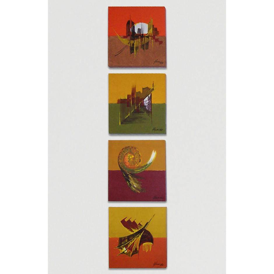 Acrylmalerei – Leinwand 30 x 30 cm